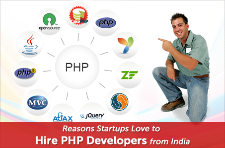 Reasons Startups Love to Hire PHP Developers from India