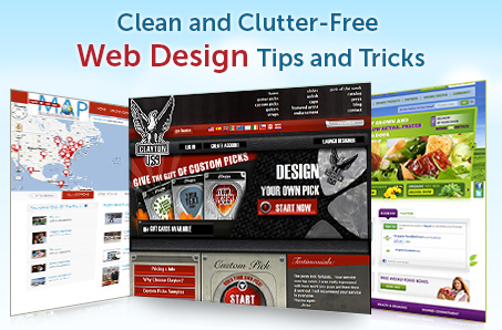 Clean and Clutter-Free Web Design Tips and Tricks